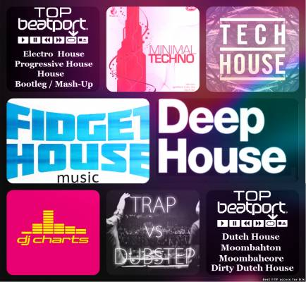 700 Hits Techno House EDM Fitness Remixes Workout Music 2016 Top 100 H