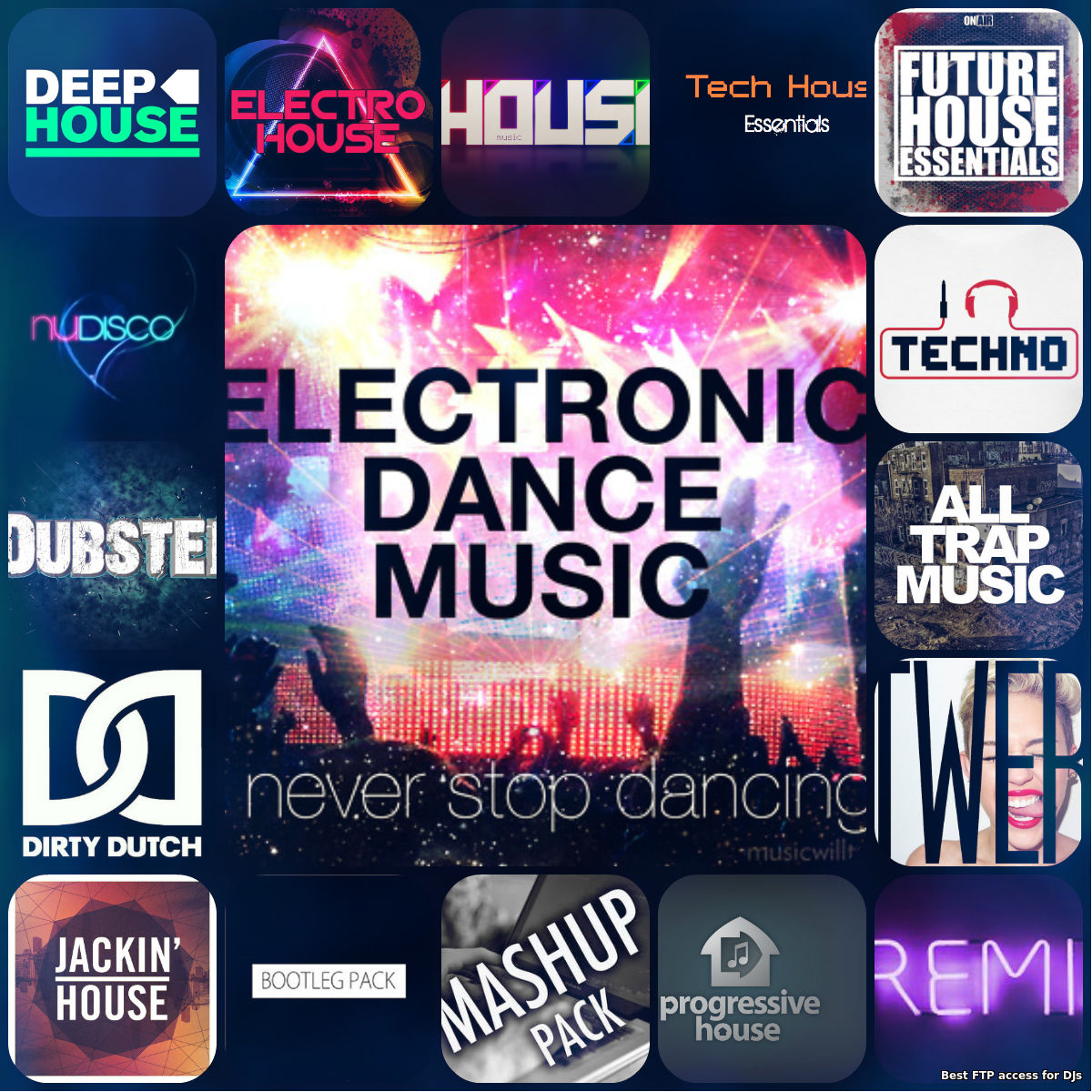 Daily update top edm tracks part 2 popular for Best house music playlist