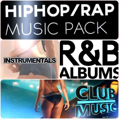 The 100 most popular and best selling hit Rap, Dance, Mainsream music